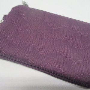 NEW! Thirty One Quilted Plum Chevron Wallet